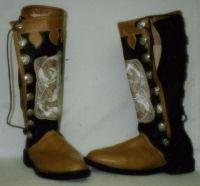 Stratford Elizabethan Shoe (Oxblood)(1580-1630